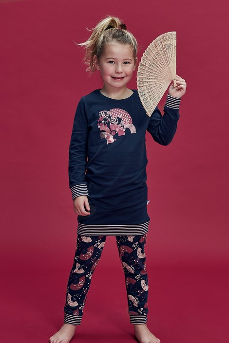 Pijama Flowery, fetite