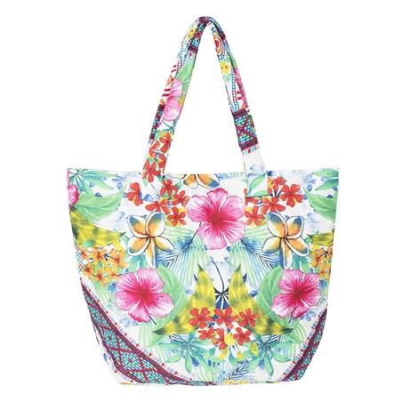 David Beachwear Plážová taška italské značky David Beachwear kolekce Rajasthan 46x35 xm barevná uni