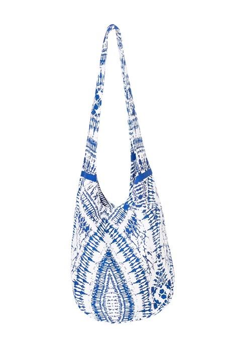 David Beachwear Plážová taška italské značky David Beachwear Graphic modrobílá uni