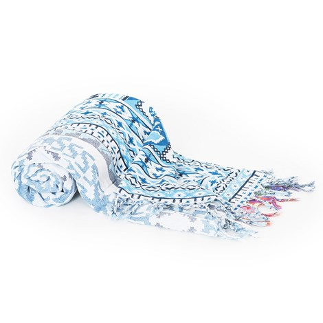 David Beachwear Plážová deka italské značky David Beachwear Gujarat 180x100cm barevná uni