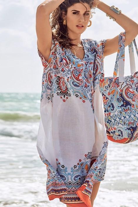 David Beachwear Dámské italské letní šaty David Beachwear Jaipur barevná L