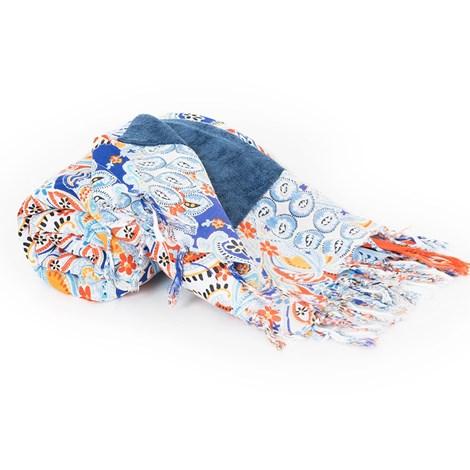 David Beachwear Plážová deka italské značky David Beachwear Jaipur 180x100cm barevná uni