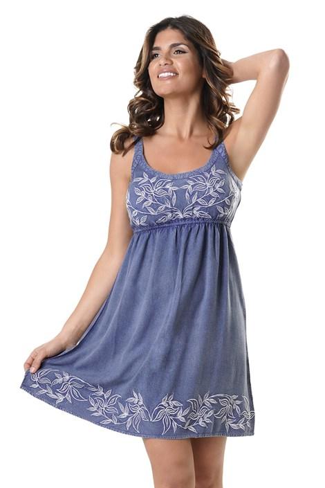 David Beachwear Dámské plážové šaty Christina modrá S