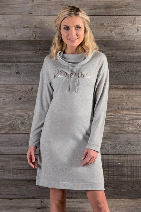 Hechter Dámské úpletové šaty Tulle šedá L