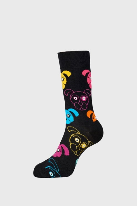 Happy Socks Ponožky Happy Socks Dogs černá 41-46