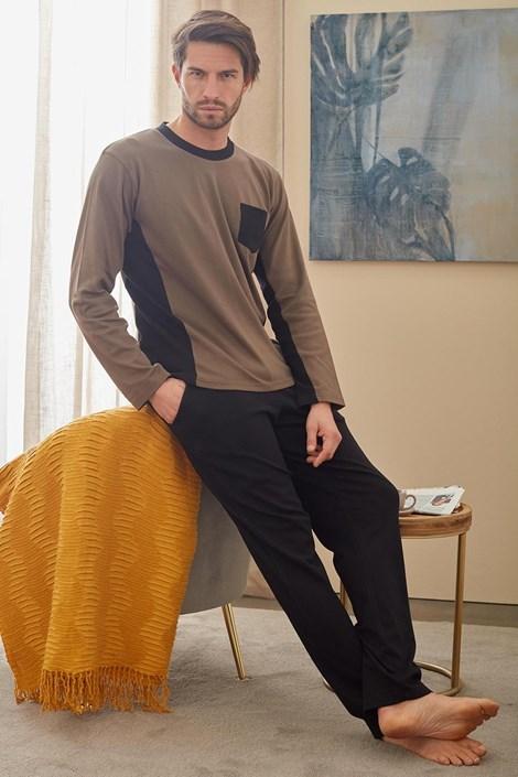 Černozelené pyžamo Christopher