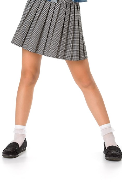 MONA Dívčí ponožky Daka bílá uni
