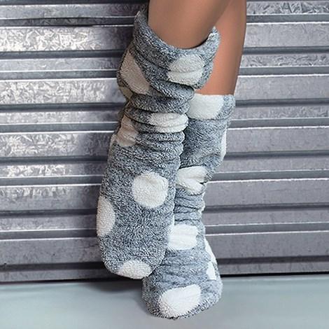 L -  L Ponožky Darcy šedá 36-38
