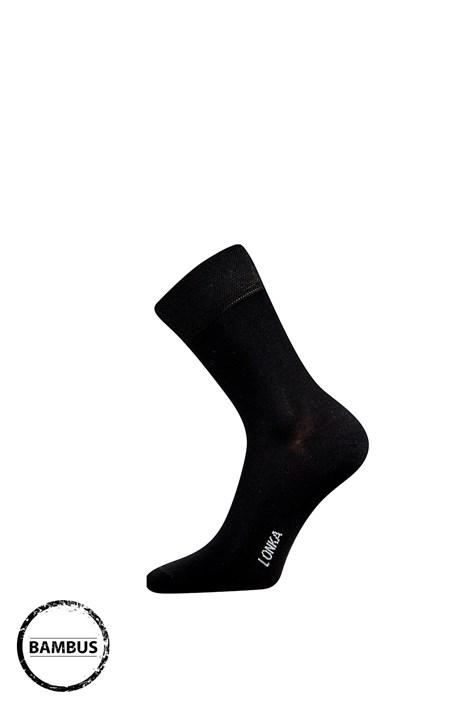 Lonka Bambusové ponožky Debob černá 43-46