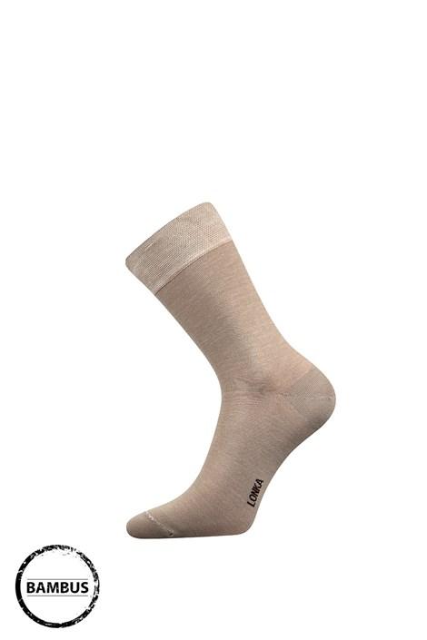 Lonka Bambusové ponožky Debob béžová 39-42