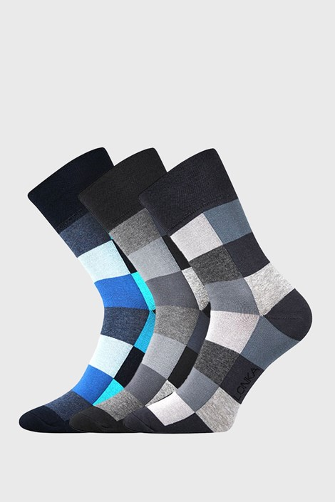 3 PACK ponožek Decube Mix B