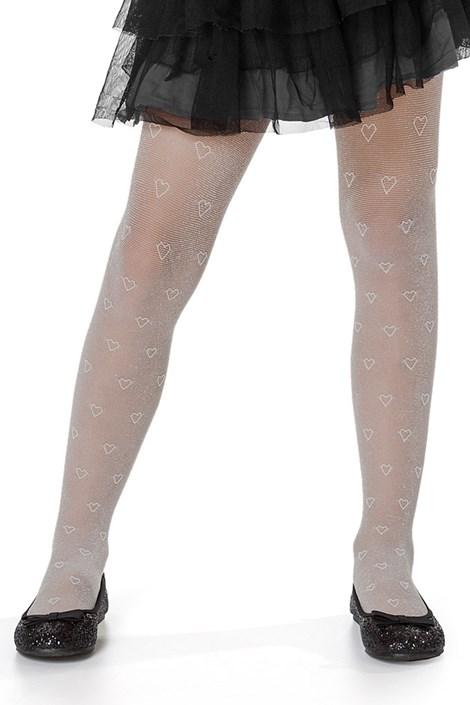 MONA Dívčí punčochové kalhoty Dela bílá 152/158