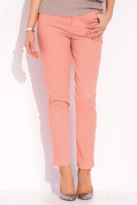 ZAPS Dámské luxusní kalhoty Dena 016 lososová 36
