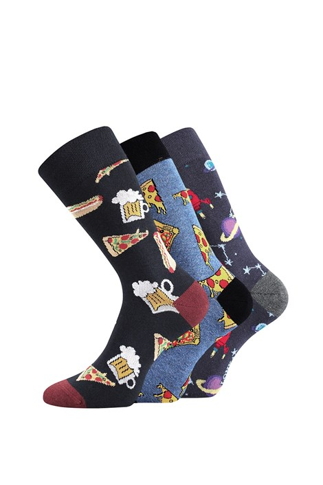 Lonka 3 pack ponožek Depate Mix C barevna 39-42