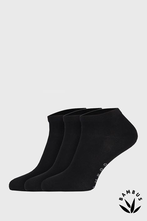 3 PACK bambusových ponožek Desi černé