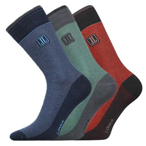 Lonka 3pack ponožek Destrong B barevná 43-46