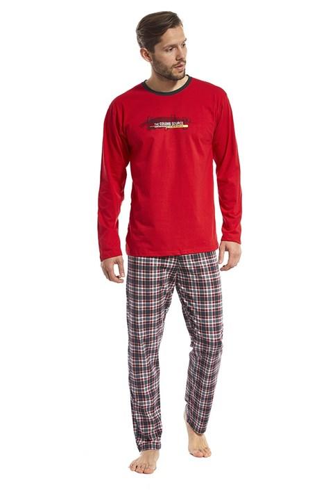 Cornette Pánské pyžamo Display červené červená XXL