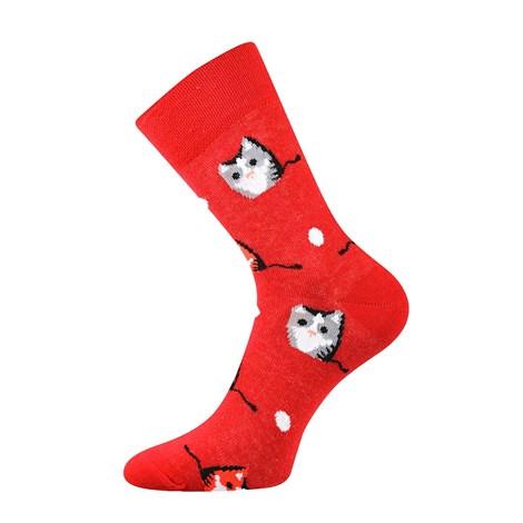Trendy ponožky Kočky - každá ponožka jiná  20ad62d27a