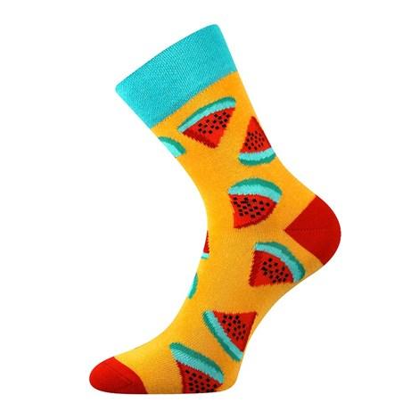 Trendy ponožky Meloun - každá ponožka jiná  39f3ade4c9