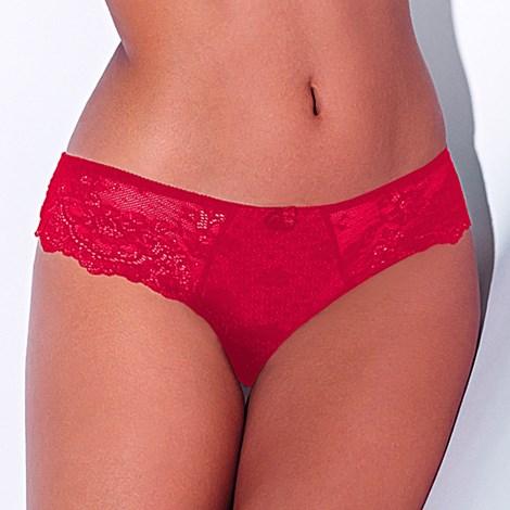 Dama Kier Brazilky Dolores Red červená XL