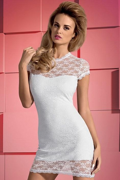 Obsessive Šaty Dressita White bílá L/XL