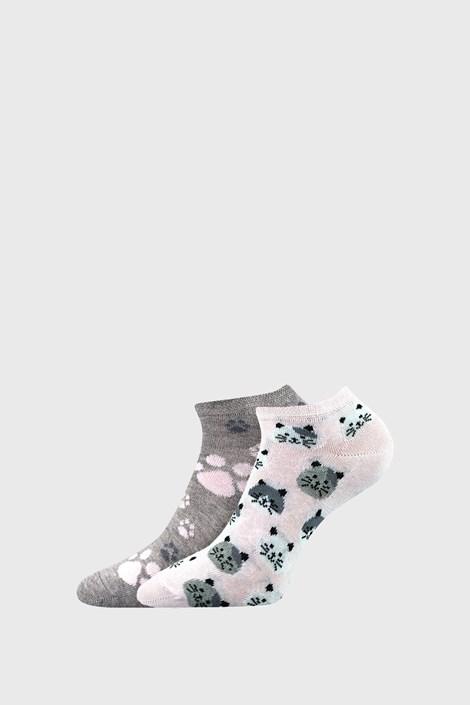 2 PACK dámských ponožek Cats