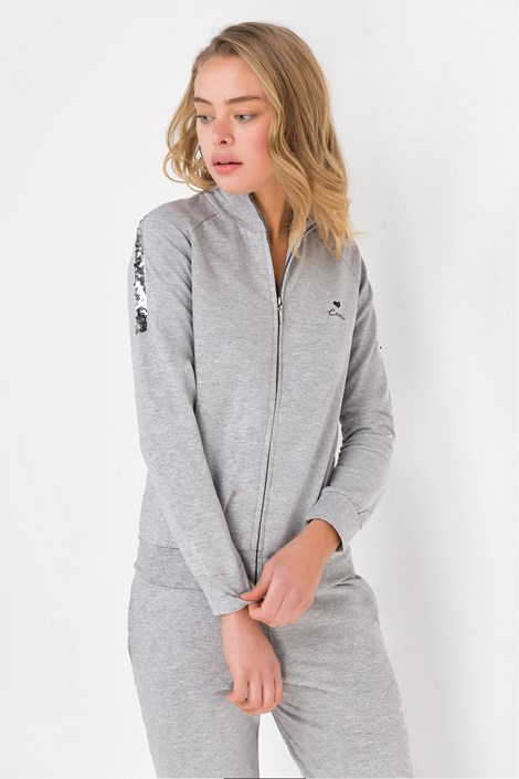 Coveri Domácí komplet May šedý šedá XL