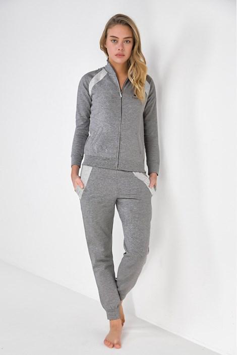Coveri Domácí komplet Jane šedý šedá XL