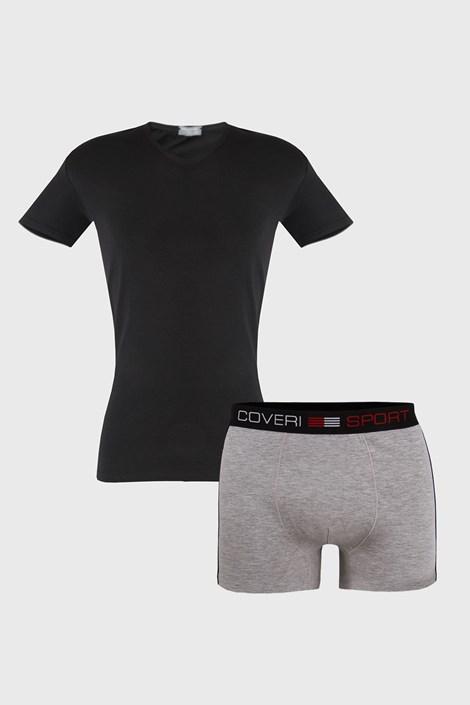 SET pentru barbati Roman, tricou si boxeri
