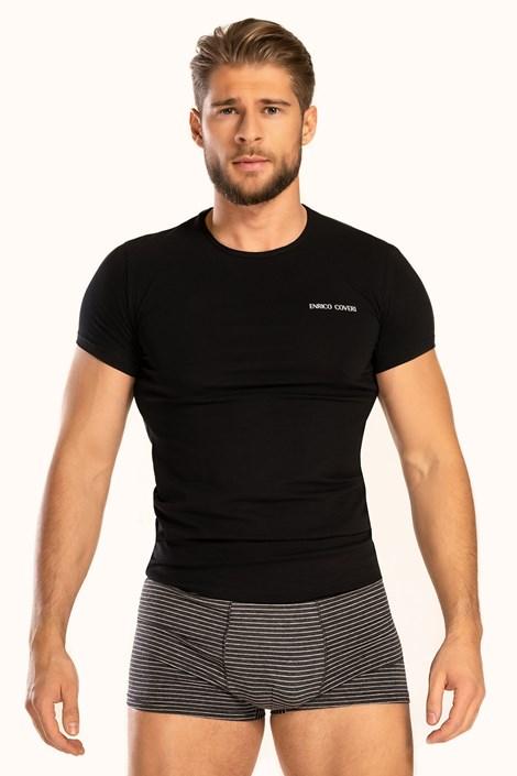 Černý SET trička a boxerek Alaric