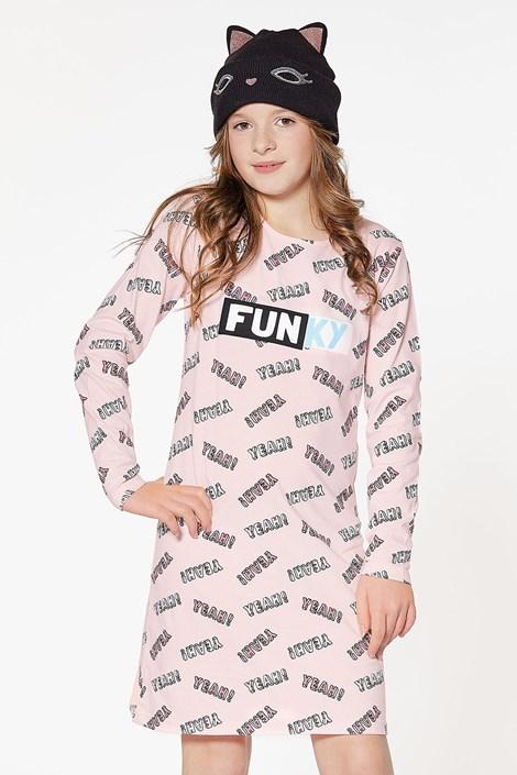 CTM Style Dívčí noční košilka Funky růžová 16