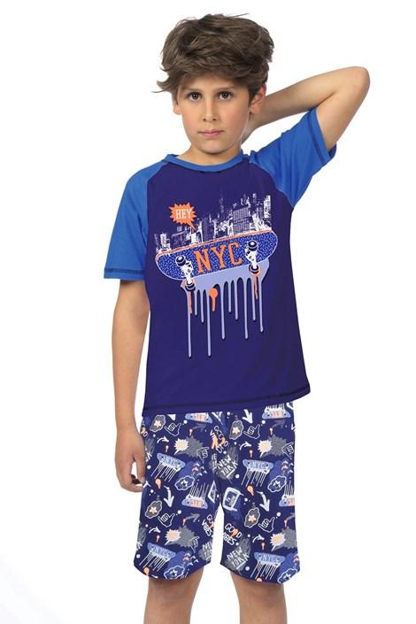 Lenny Sky Chlapecké pyžamo NYC barevná 16