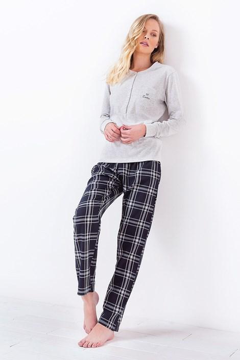 Coloriamoci Dámské pyžamo 3034 šedé šedá L