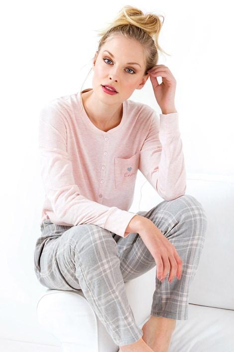 Coloriamoci Dámské pyžamo Stella růžové růžová XL