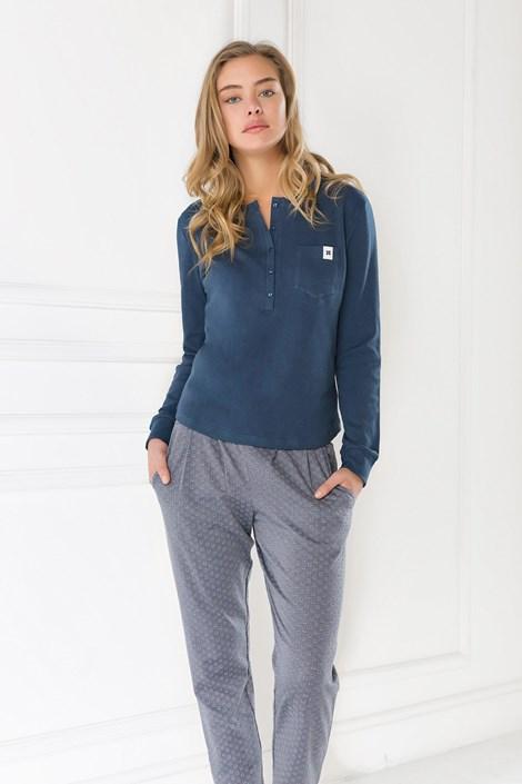 Coveri Dámské pyžamo Marianna denim M