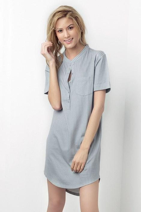Donna Dámská noční košile Simone šedá šedá XL