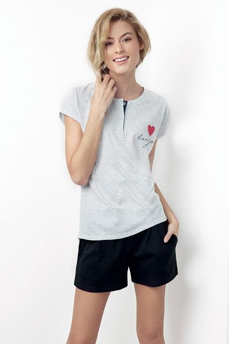 Donna Dámské pyžamo Susane bíločerná XL