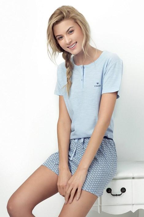 Donna Dámské pyžamo Caprice světle modré modrá XL