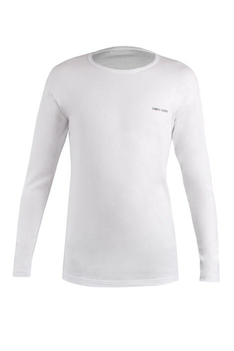 Enrico Coveri Chlapecké triko s dlouhým rukávem ET4004 I bílá 5/6