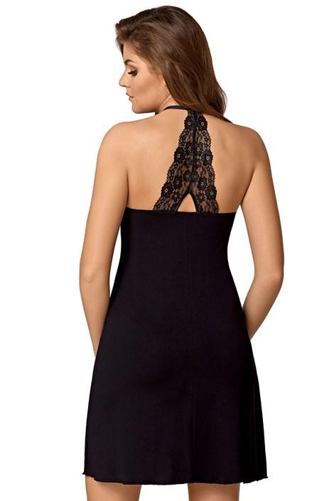 Babella Elegantní dámská košilka Edyta černá L