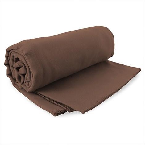 DECOKING Rychleschnoucí ručník Ekea hnědý hneda 60x120
