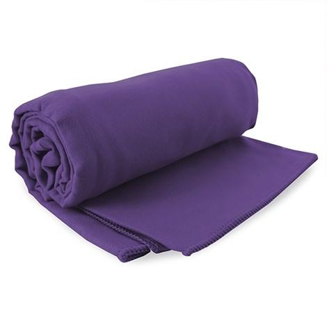 DECOKING Rychleschnoucí ručník Ekea fialový fialova 60x120