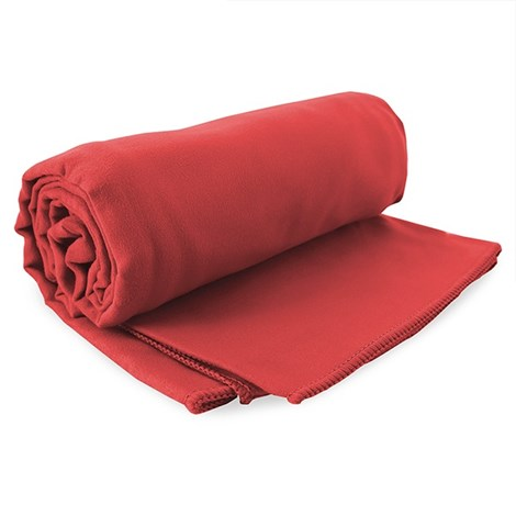 DECOKING Rychleschnoucí ručník Ekea červený cervena 60x120