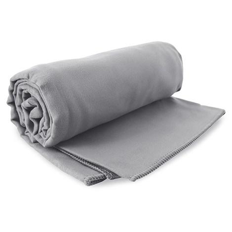 DECOKING Rychleschnoucí ručník Ekea šedý seda 60x120