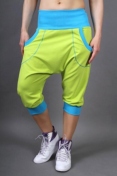 2skin Sportovní kalhoty Electric lemon limetka uni