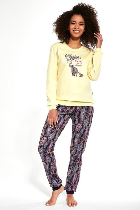 Cornette Dámské pyžamo Elephants vícebarevná XXL