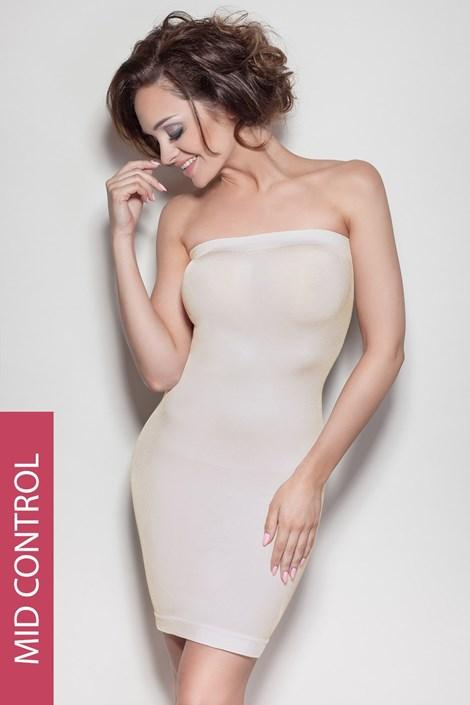Mitex Stahovací šaty Elite Tube béžová S/M