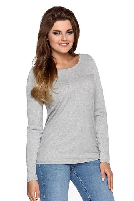 Babell Dámské úpletové tričko Elza šedá XL