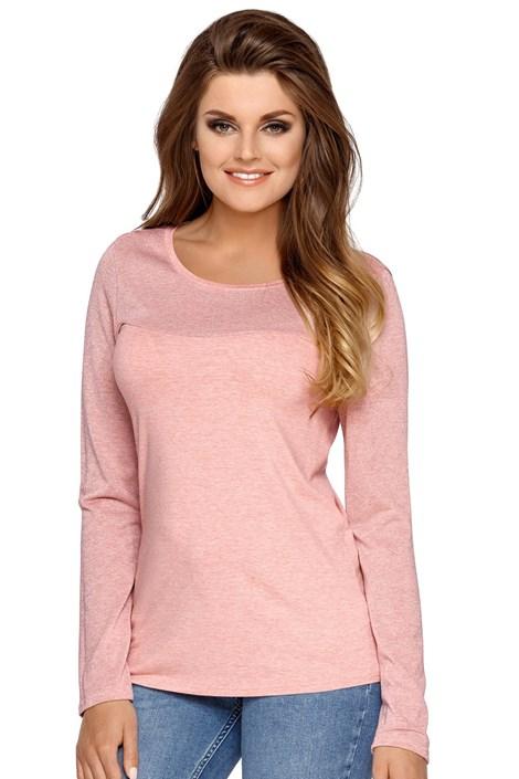 Babell Dámské úpletové tričko Elza růžová M