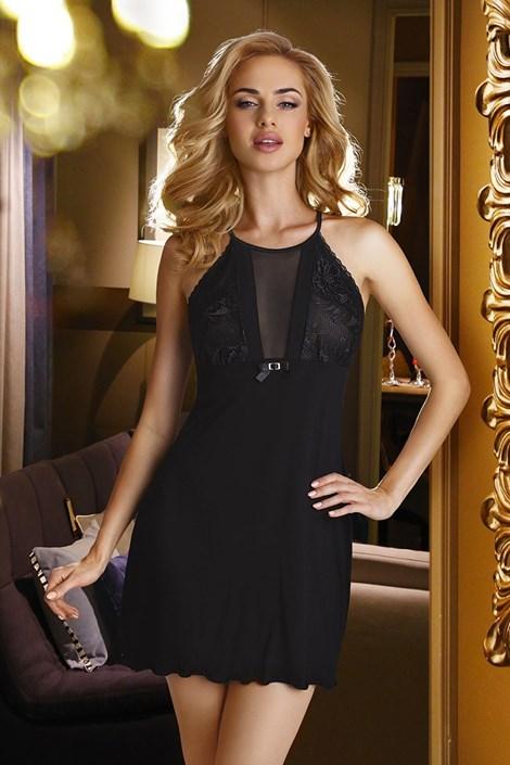 Eldar Elegantní košilka Emi Black černá L
